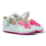 Sophia Webster Mini Bibi Butterfly Baby Spearmint and Pink Pumps