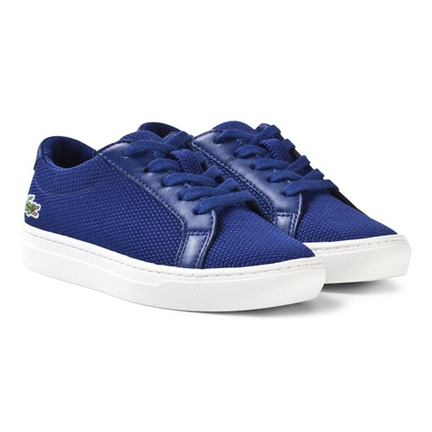 Blue Cac Kids Lace Trainers