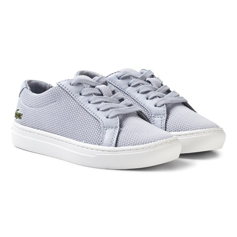 Grey Cac Kids Lace Trainers