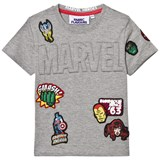 Fabric Flavours Marvel Embossed Badge Tee