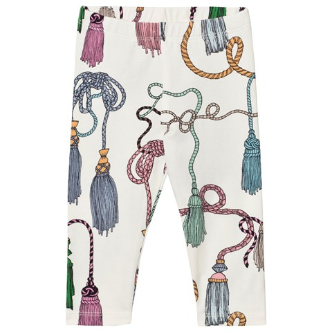 Mini Rodini Tassel Print Leggings