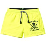MC2 St Barth Fluo Yellow Pirate Trunks
