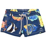 MC2 St Barth Tropical Fish Print Jean Trunks