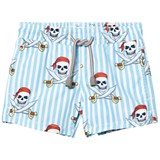MC2 St Barth Pirate Skull Jean Trunks