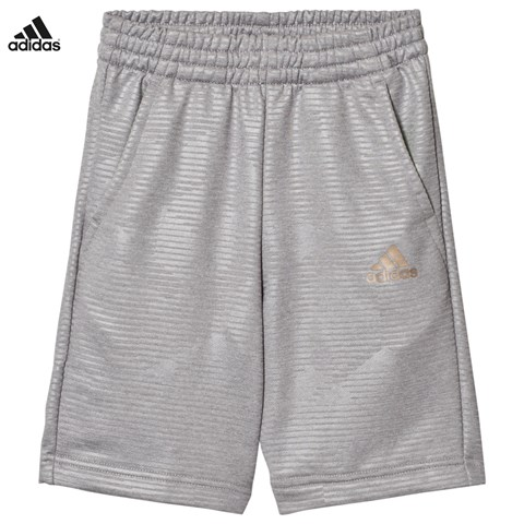 Grey Football Silo Long Shorts