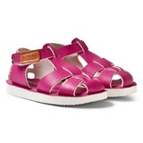 Kavat Cerise Leather Sandals