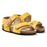 Kavat Yellow 2-Strap Leather Sandals