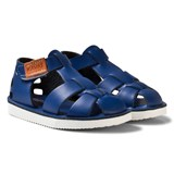 Kavat Cobalt Leather Sandals