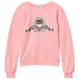 Wildfox Pink Silver Screen Kitten Sweater