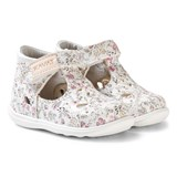 Kavat Floral Print Perforated Velcro Shoes