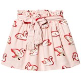 Stella McCartney Kids Pink Myrtle Swans Skirt
