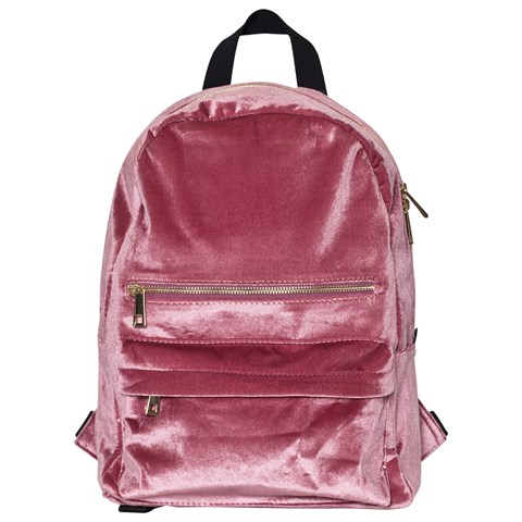 Molo Pink Velvet Fox Glove Backpack