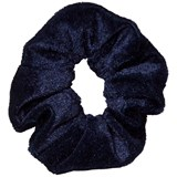 Molo Velvet scrunchie Total Eclipse