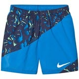 Nike Blue Printed Running Shorts