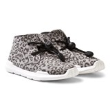 AKID Leopard Remington Hi Top Trainers
