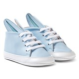 Minna Parikka Pale Blue and White Baby Bunny Trainers