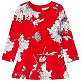 Joules Red Peony Print Jersey Dress