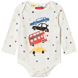 Joules Cream Car Print Body