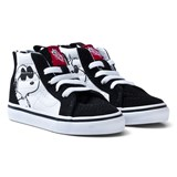 Vans Black SK8 Hi-Top Joe Cool Peanuts Zip Trainers