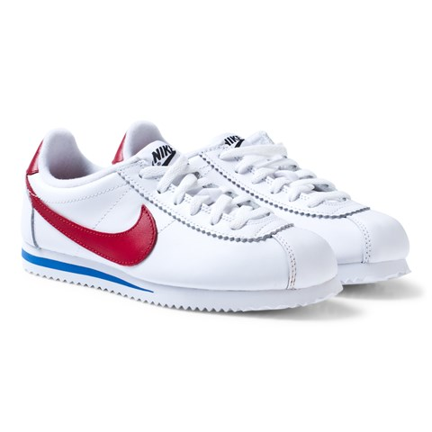 low cost 9bb5c e285e ... buy nike white and red classic cortez junior shoe 0dcb6 2a1a8