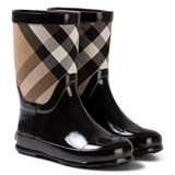 Burberry Black Nova Check Wellies