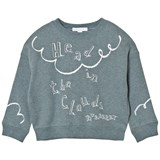 Burberry Pale Blue Clemy Head in the Clouds Sweatshirt