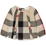 Burberry Classic Check Mini Aggatha Frill Blouse