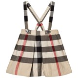 Burberry Classic Check Sofia Skirt with Braces