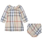 Burberry Classic Check Amandine Dress and Knickers Set