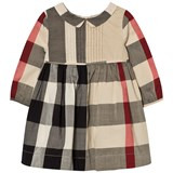 Burberry Classic Check Liz Long Sleeve Dress