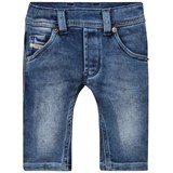 Diesel Blue Denim Washed Jeans