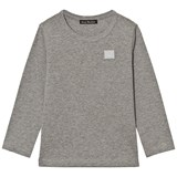 Acne Studios Light Grey Melange Mini Nash Long Sleeve Top