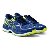 Asics Blue and Green Junior Gel-Cumulus 19 Running Trainers