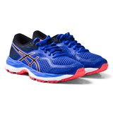 Asics Purple and Coral Junior Gel-Cumulus 19 Running Trainers