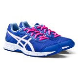 Asics Purple and White Junior Gel-Galaxy 9 Running Trainers