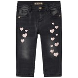 Guess Charcoal Heart Print Jeans