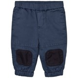 Stella McCartney Kids Navy Pull Up Almond Track Pants