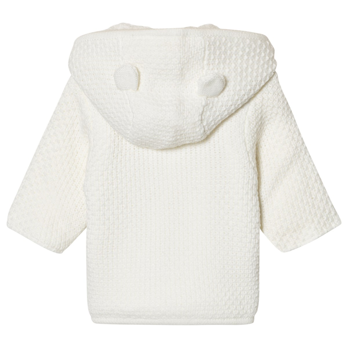 dad10833c2e9 Absorba Cream Knit Hooded Coat with Faux Fur Lining