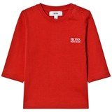 BOSS Red Branded Long-Sleeved Tee