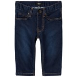BOSS Indigo Slim Jeans with Elasticated Waistband