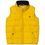 Timberland Kids Yellow Puffer Hooded Gilet