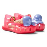 Mini Melissa Pink Ice Cream Sandals
