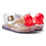 Mini Melissa Grey Ice Cream Sandals