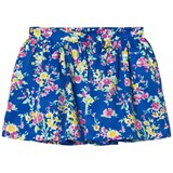Ralph Lauren Blue Floral Skirt