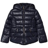 Mayoral Navy Hooded Puffer Jacket