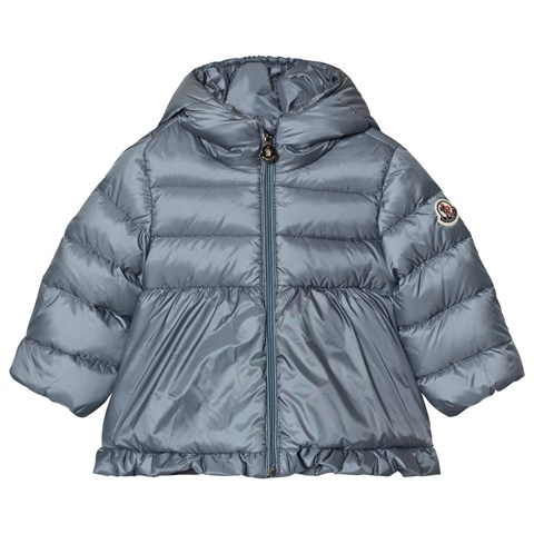 Moncler Grey Blue Odile Puffer Jacket