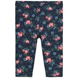 United Colors of Benetton Navy Floral Print Jersey Leggings