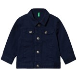 United Colors of Benetton Navy Denim Jacket