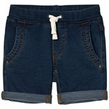 United Colors of Benetton Blue Chino Shorts With Tie Waist