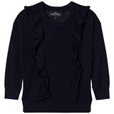 Little Remix Navy Ruffle Little Remix Sweater